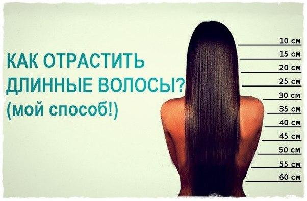 Как отрасти волосы за неделю на 20 см в домашних условиях
