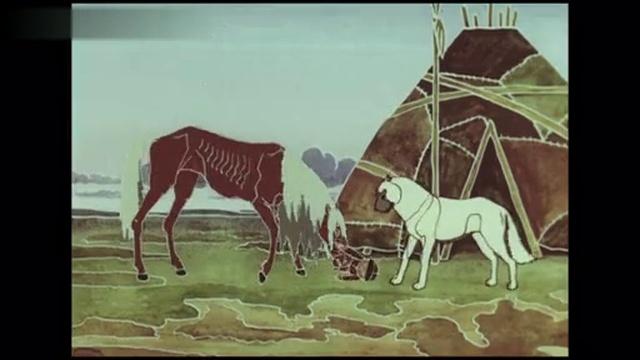 Легенда о черном волке (1987) мультфильм