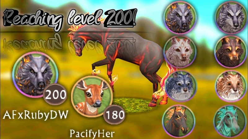 Reaching level 200! And I have all MYSTIC SKINS! •WildCraft• [English/PT-BR]