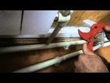 Как правильно паять трубы своими руками, установка радиаторов отопления.