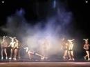 Театр танца Искушение , шоу под дождем 2 Дышу тобой