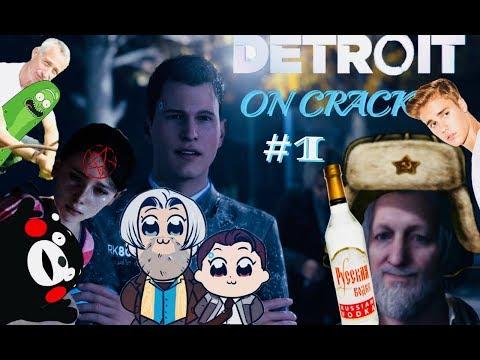 DETROIT ON CRACK 1 - Шерлок Коннор и Доктор Хэнк