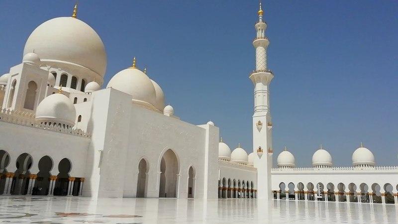 Мечеть Шейха Зайда (Белая мечеть). Абу Даби. ОАЭ/ The Sheikh Zayd Mosque Abu Dhabi. UAE