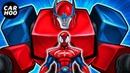MASKED SPIDER Ep04 - Spider-man Mega Zord ! 【Marvels Spider-man Parody】