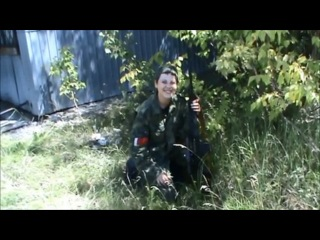 Наталья Красовская, ополченка-снайпер, доброволец из Беларуси - 'Я убиваю врагов'