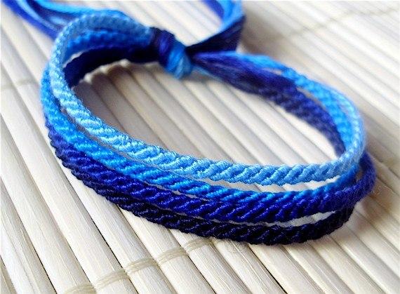 Часть 16 - плетение браслетов