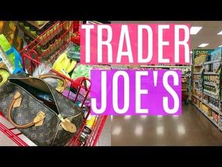 TRADER JOE'S GROCERY HAUL | VEGAN