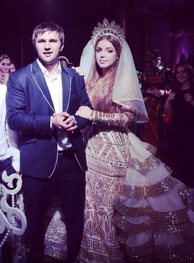 Свадьба аиды и хочбара хачилаева фото