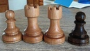 Woodturning a Chess Set - The Rooks