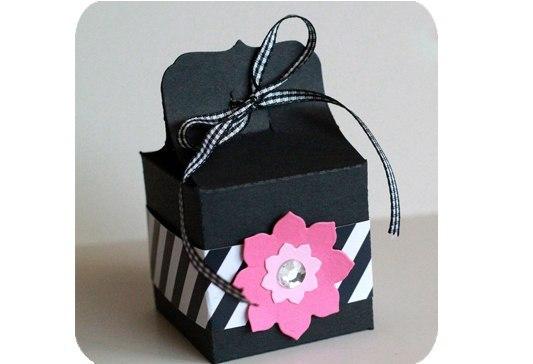 Подарочная коробочка своими руками. (4 фото) - картинка