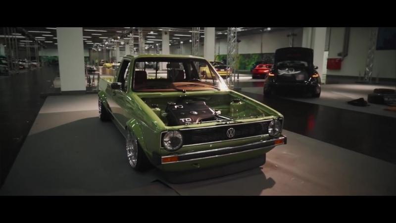 VW Caddy MK1 14D | Tobias Huber | VWHome | Perfect Stance