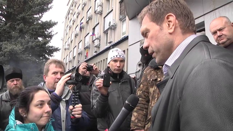 Олег Царев в Луганске: Я считаю эту власть незаконной