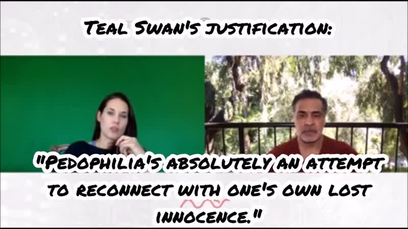 Teal Swan Pedogate Allegations 1 - Mas Sajady Says Abuse is Seductive