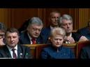 Подивіться на вираз обличчя Порошенка під час інавгурації Зеленський Президент