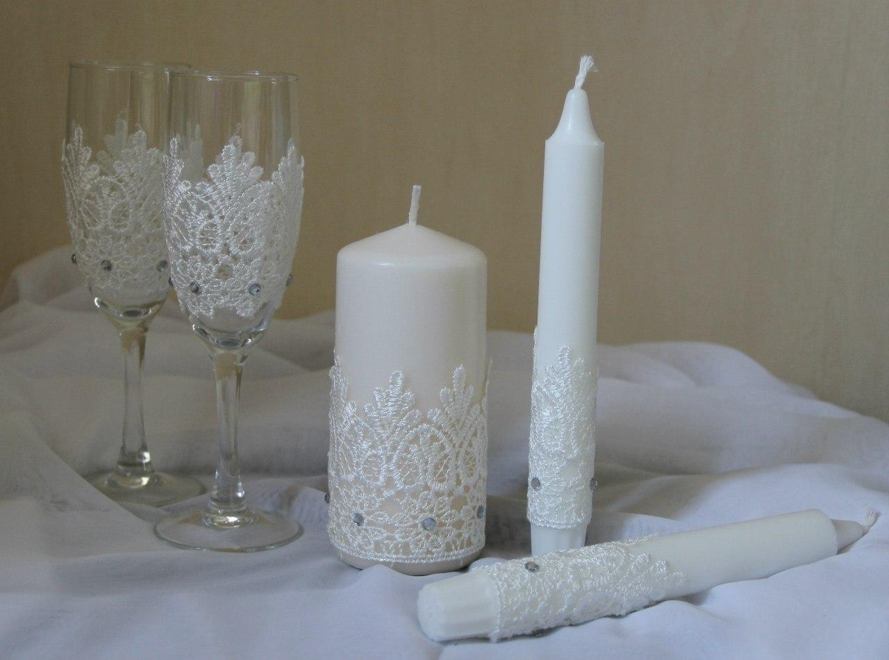 Cвадебные свечи своими руками: делаем, украшаем, идём 29