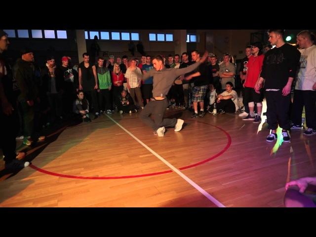 West Da Crew vs Sztewite Gang Final B Boyowe Konfrontacje Kutno 2013