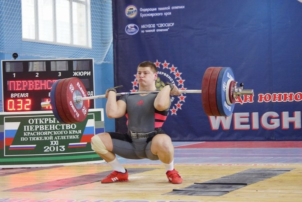 Открытое первенство Красноярского края по тяжелой атлетике 2013