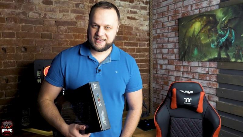 Обзор и тесты игровой клавиатуры TT Premium X1 RGB Cherry MX Blue Keyboard.