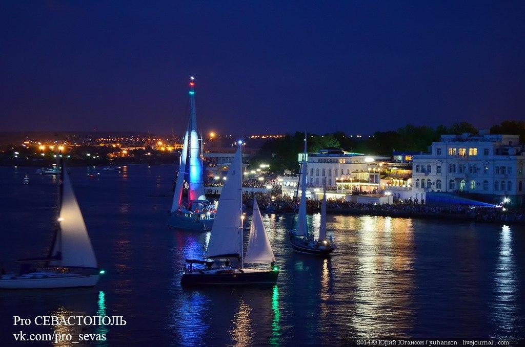 Карнавал яхт в Севастополе<br>#яхты #севастополь@pro_sevas <br>Фото: Юрий Югансон