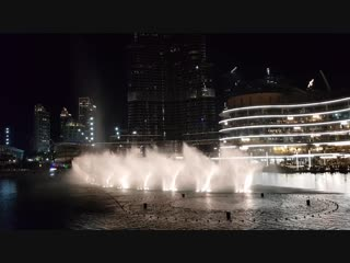 ОАЭ Поющие фонтаны!