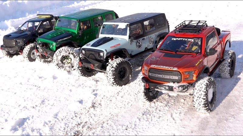 NEXT BIG THING 18 scale Trail Trucks BACKYARD TRAIL PARK - 4x4 Cragsman Crew   RC ADVENTURES