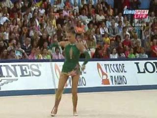 Алина Кабаева - скакалка (многоборье) // Чемпионат Европы 2006
