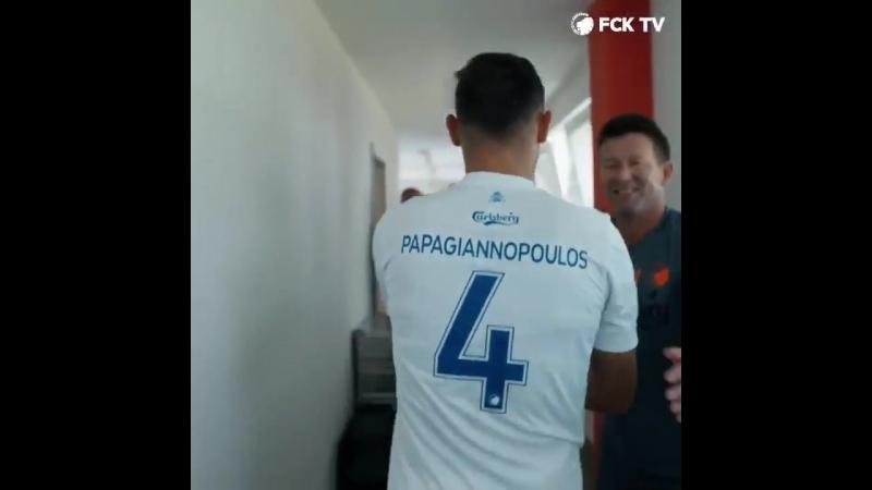 Сотириус Папаяннопоулос в матче против Марибора