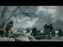 Первая немецкая атака на окопы панфиловцев