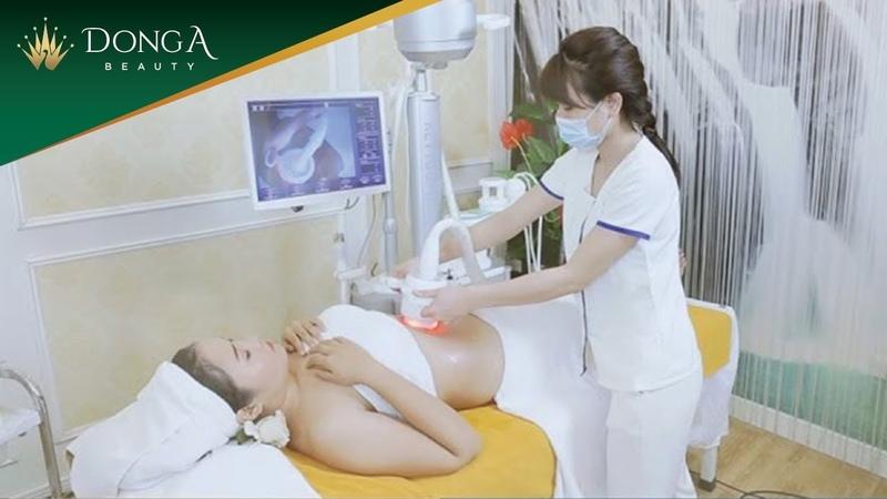 Quy trình thực hiện giảm mỡ 4D Lipo tại Thẩm mỹ viện Đông Á