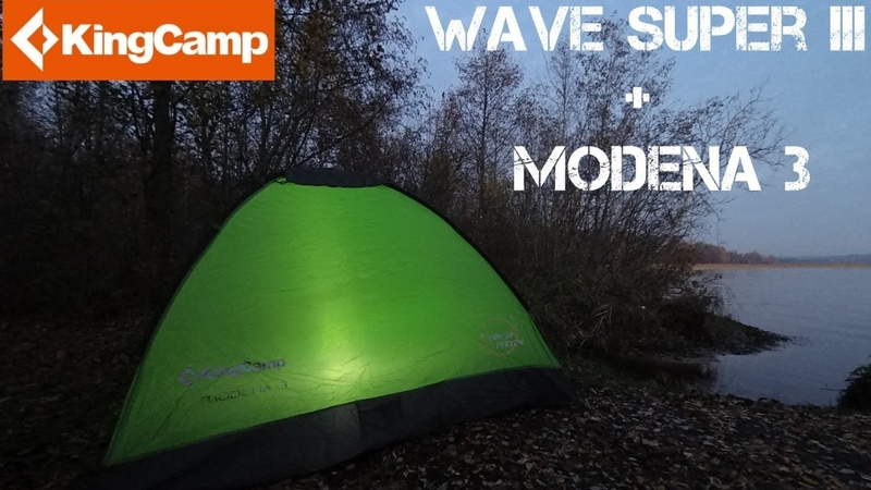 ⚠️[ОБЗОР] Палатка Самонадув KingCamp • Wave Super lll Modena 3 Overview