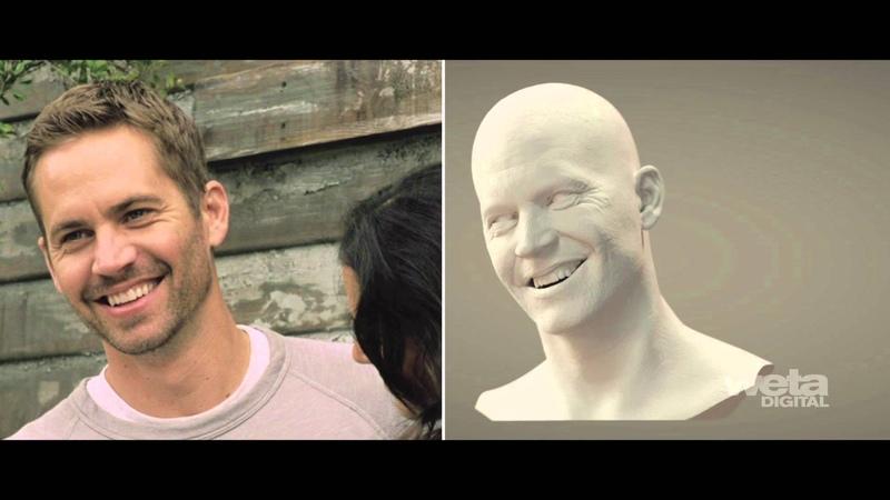 Weta Digital's artistry behind Brian O'Conner in Furious 7