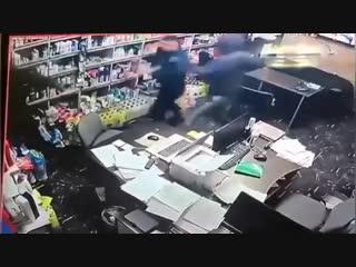 Ограбление в Махачкале.