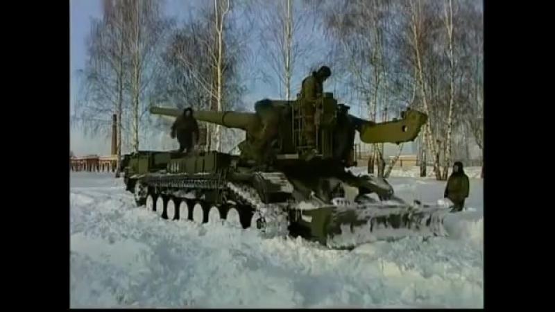 Самоходная атомная пушка САУ 2С7 «Пион» (2С7М «Малка»).