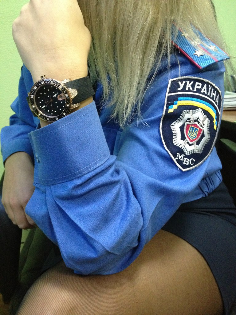 Секс милиционерша