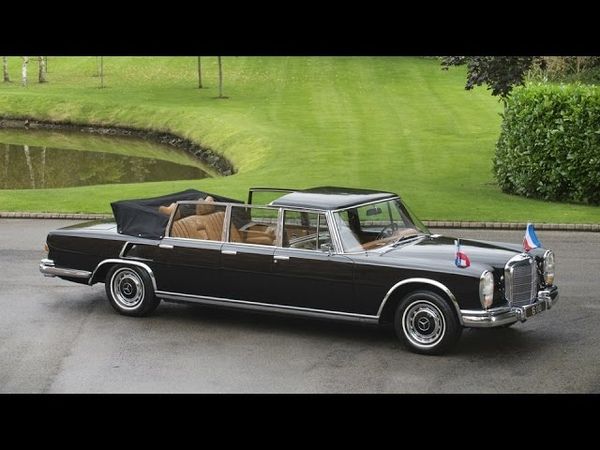 For sale Mercedes Benz 600 Pullman Landaulet W100 3 million euros