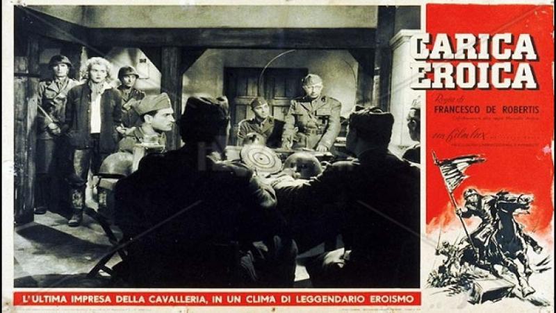 Carica Eroica -F De Robertis 1952-Tania Weber Domenico Modugno Franco Fabrizi Gigi Reder Alfredo Rizzo