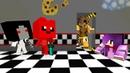 Желейный Мишка И Слендерина Против Девушки Аниматроники В Майнкрафт ~ Мультик Minecraft! Медведь Нуб