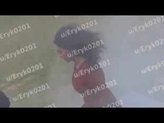 Ведьмак - Видео со съёмок