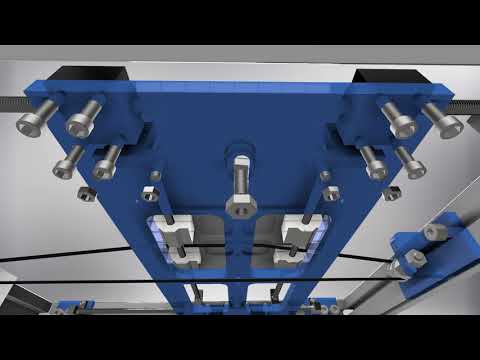 3D анимация сборки 3D принтера