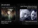 [de:ad:cibel] - Solar Plexus - Solar Plexus (Album Version) [DE-AT7-13-17206]