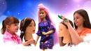 Салон Красоты - Соревнование для девочек - Новая прическа Барби.
