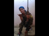 Kurdish woman sniper vs Sniper ISIS