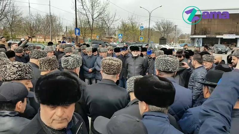 Примирение Тумгоевых и Баркинхоевых Назрань 20 04 2019 г