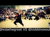 Kidda the great vs Kidd show out