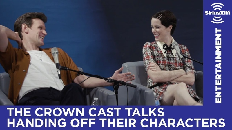 Claire Foy on Olivia Colman joining The Crown in Season 3 Entertainment Weekly SiriusXM
