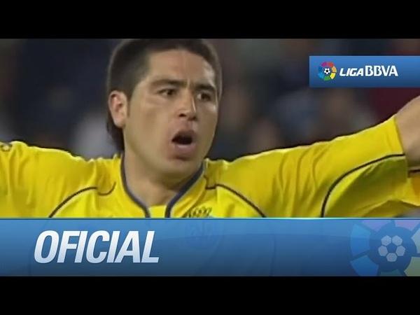 Los mejores momentos de Riquelme en la Liga BBVA