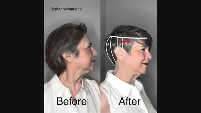 Чем старше женщина, тем короче должны быть волосы?