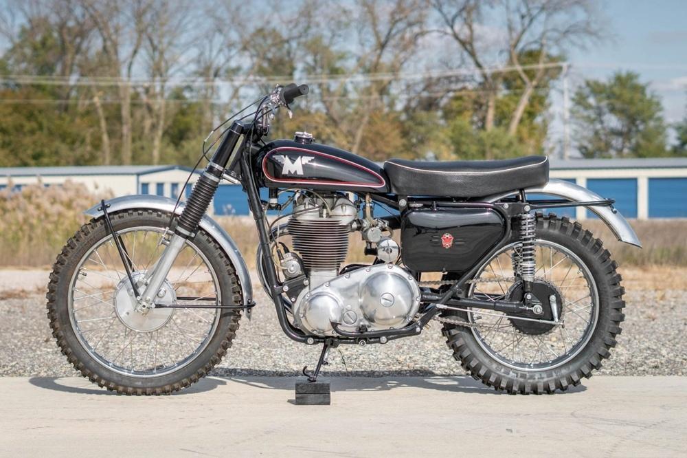 Старинный мотоцикл Matchless G80 TCS Typhoon