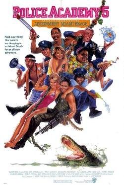 Loca academia de policía 5: Operación Miami Beach HD (1988) - Latino