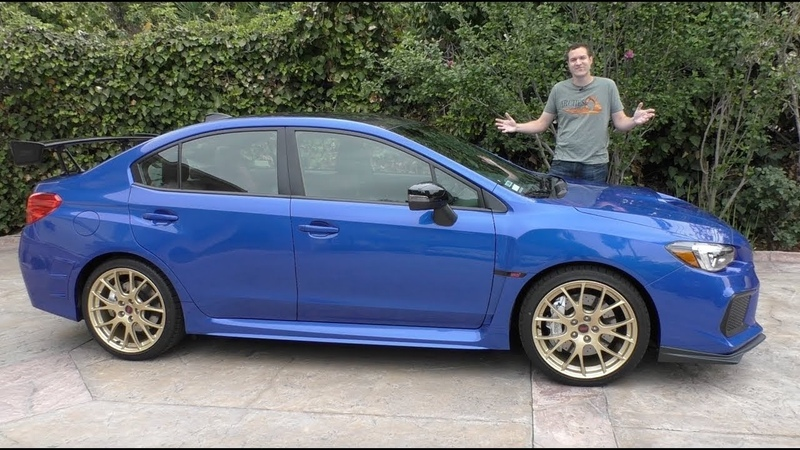 Subaru WRX STI Type RA за $50 000 это самая дорогая Subaru в истории